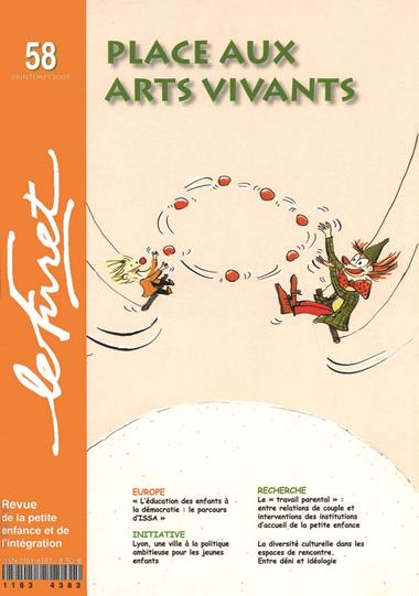 Le Furet No.58 - Place aux arts vivants